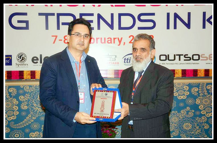 Mr. Shad Mustafa spoke in National Textile University
